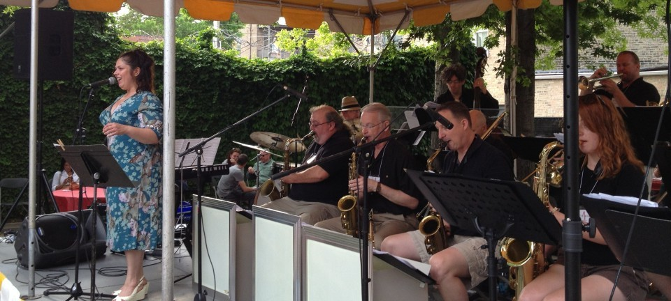 Big Band Boom! with Kimberly Gordon at the Old Town Arts Fair